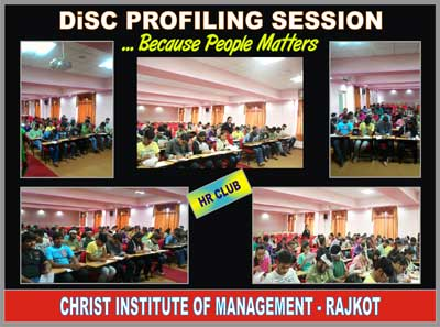DiSC Profilling Session ...Because People Matter