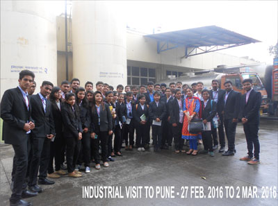 Industrial visit to  Pune-2016