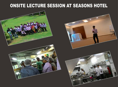 Onsite Lecture Session at Seasons Hostel